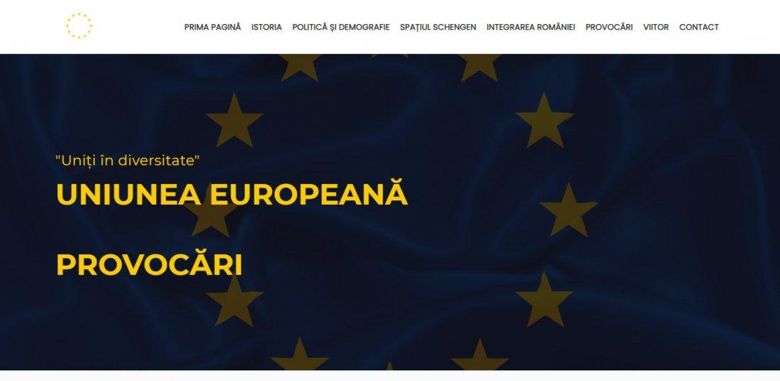 Atestat informatica Uniunea Europeana