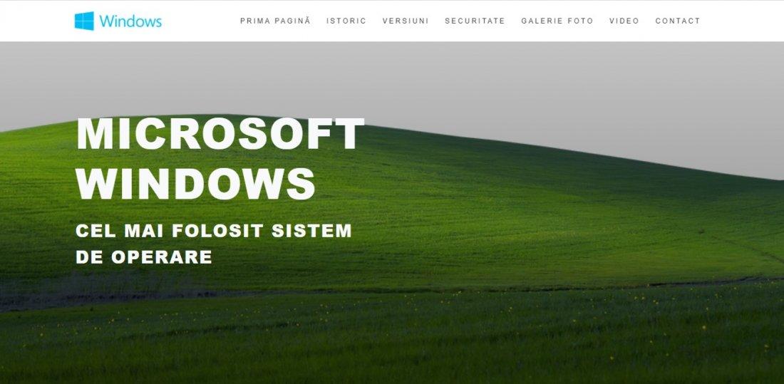 Atestat informatica Windows