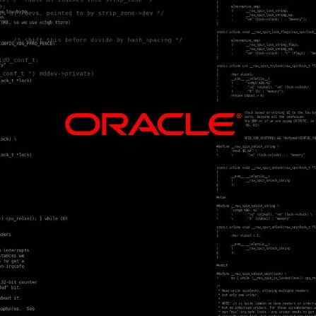 Atestat informatica Oracle